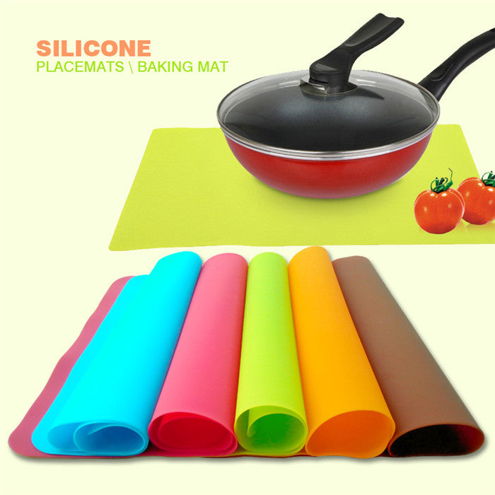 High Quality Silicone Mat Baking Liner Best Silicone Oven Mat Heat Insulation Pad Bakeware Table Mat