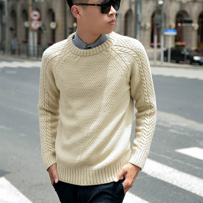 Thick Casual Sweaters Knit Pullover