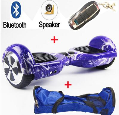 Electric Hoverboard Scooter With Bluetooth & App Function