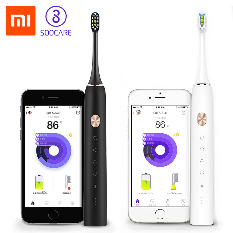 Bluetooth Waterproof Wireless Xiaomi Mijia Electric Smart Toothbrush