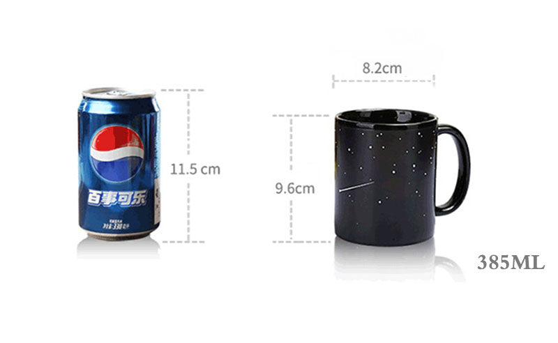 Amazing Star Solar System Changing Color Coffee Ceramic Mugs