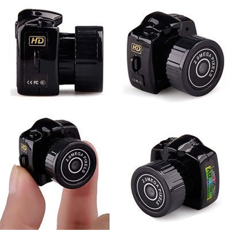 Portable Y2000 HD Smallest Mini Camera Digital Photography Video Audio Recorder