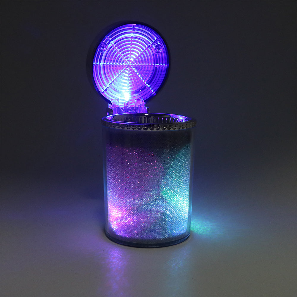 Car Ashtray Container With LED Light