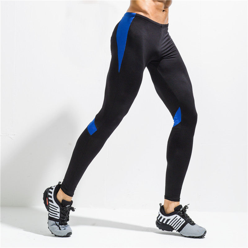 Fashion Quick Dry Breathable Skinny Men Sports Leggings