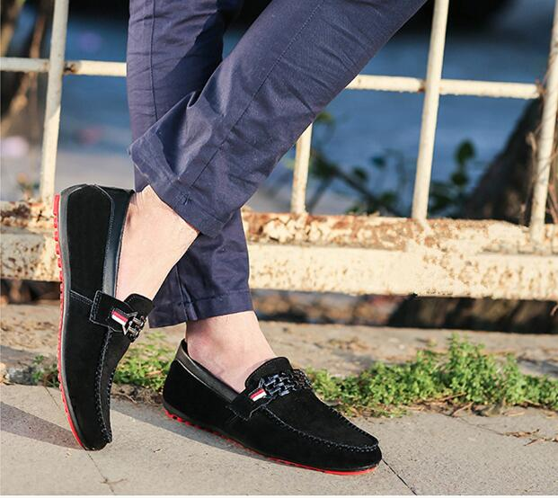 Breathable Korean Style Slip-On Low-Cut Business Men's Loafers