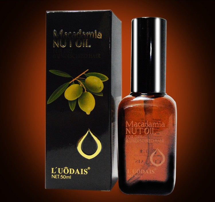 100% Pure Moroccan Argan Oil Macadamia Nut Oil Hair & Scalp Treatment For Dry & Damaged Hair