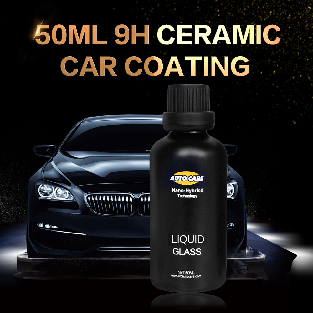 50ML 9H Hardness Ceramic Car Coating Liquid Glass Car Polish Paint Care