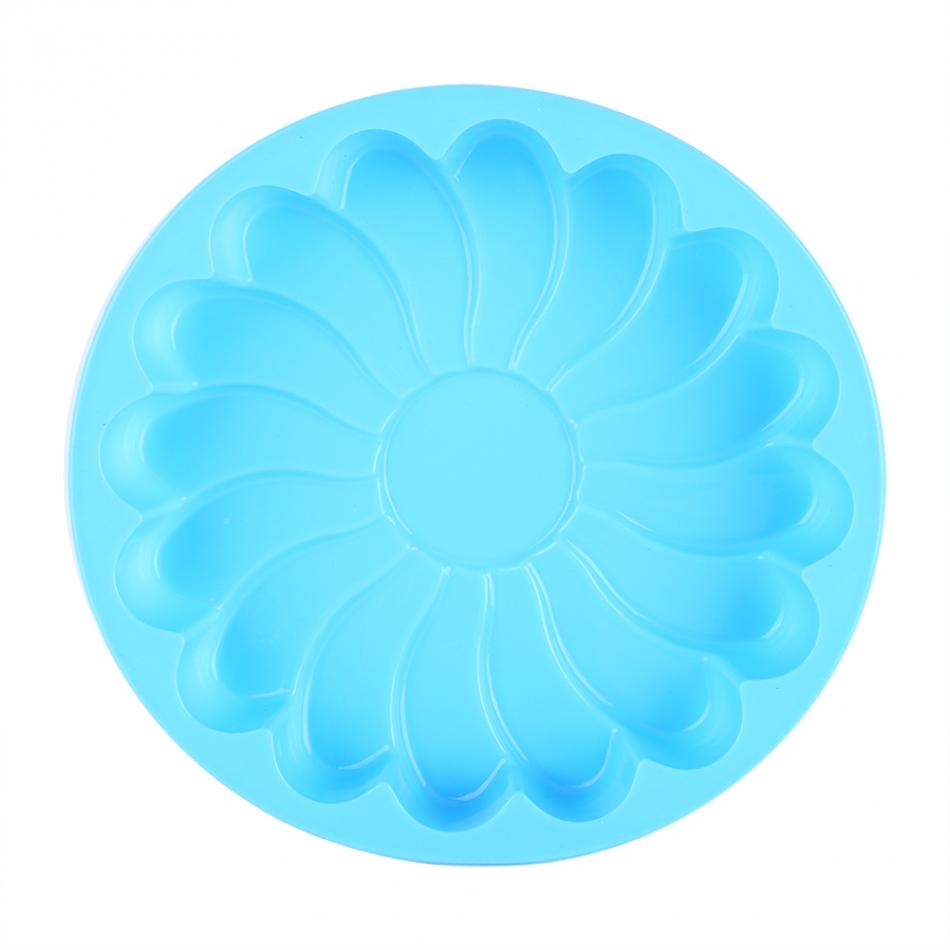 Non-Stick Round Flower Food Silicone Cake & Bread Pastry Mold