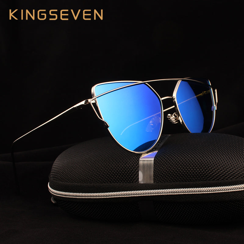 Kingseven Cat Eye Polarized Women Sunglasses