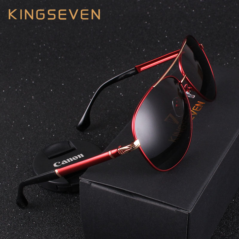 Retro Quality Brand Original Polarized Sunglasses