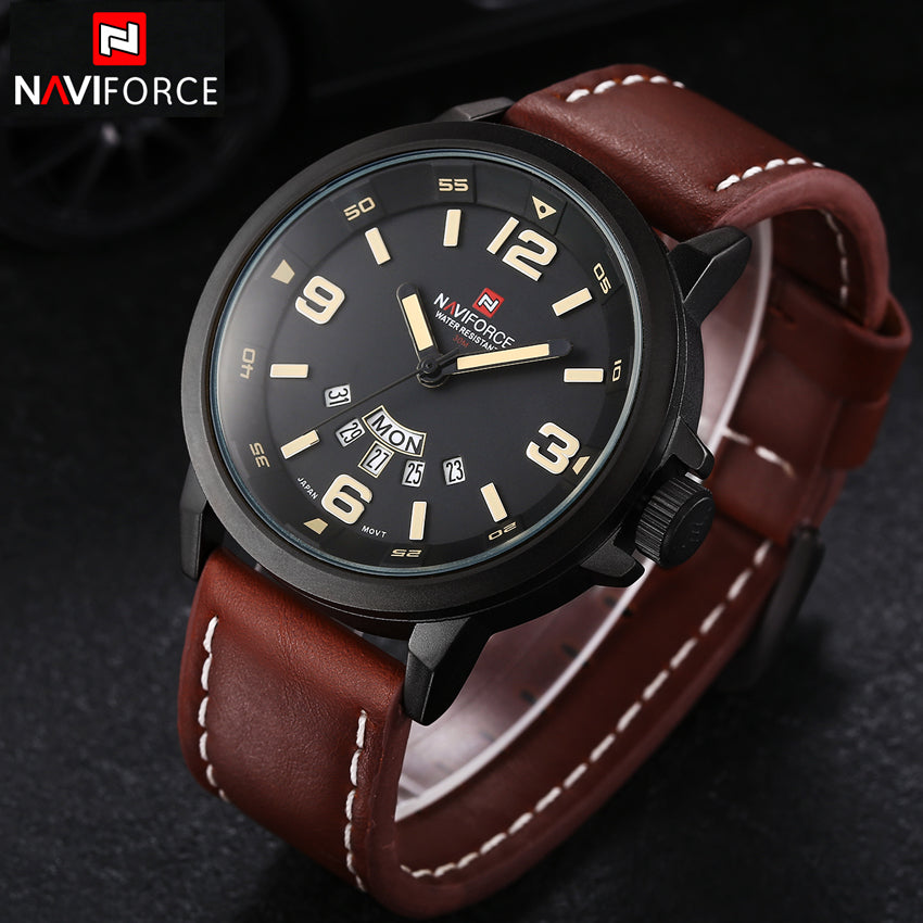 NAVIFORCE Luxury Casual Quartz Watch