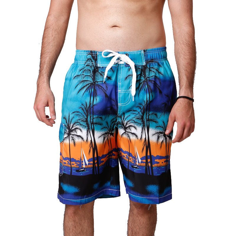 Cool Hawaii Printing Summer Mens Board Shorts
