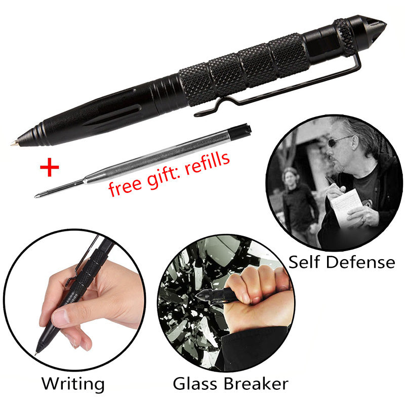 Magical Self-Defense & Tactical Pen With Writing Function