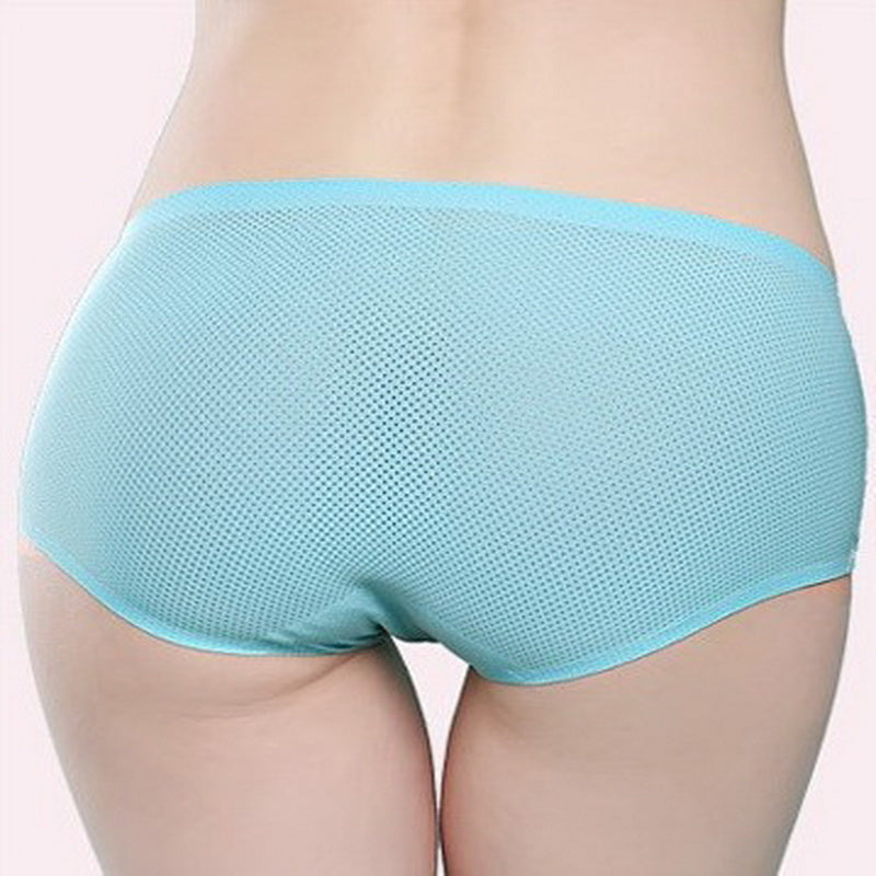 The New Women's Comfortable Panties Hollow Out Ladies Seamless