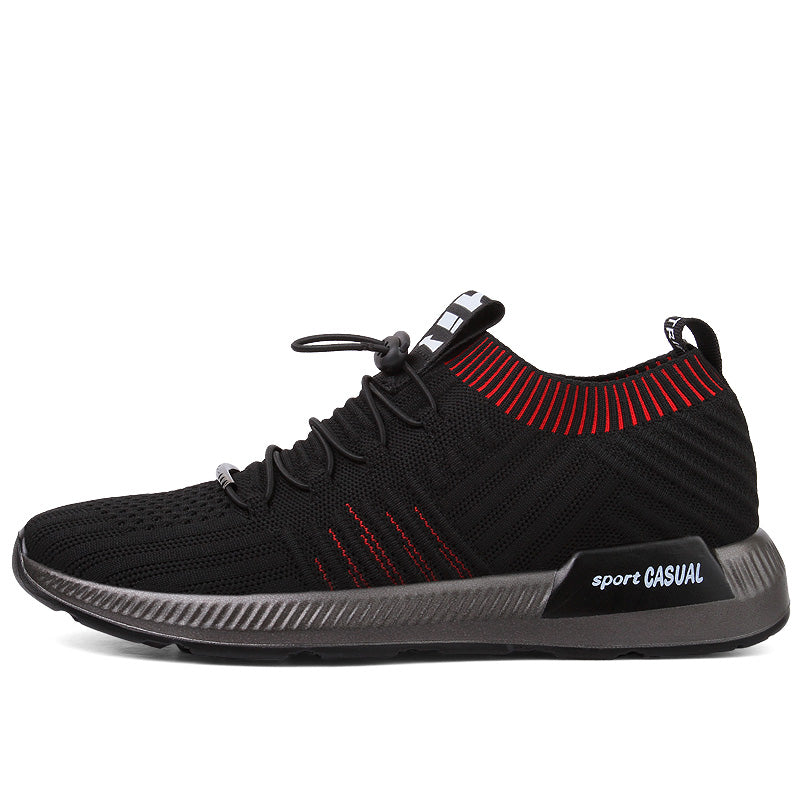 Breathable Super Light Sock Lace-Up Mesh Men Sneakers