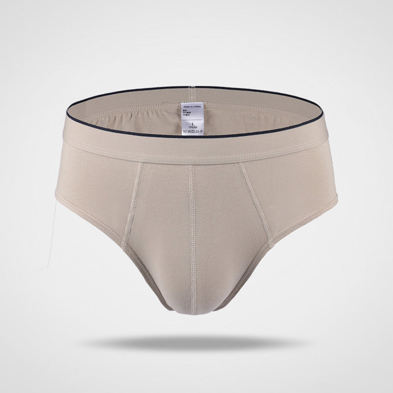 Pure Cotton Solid Color Briefs
