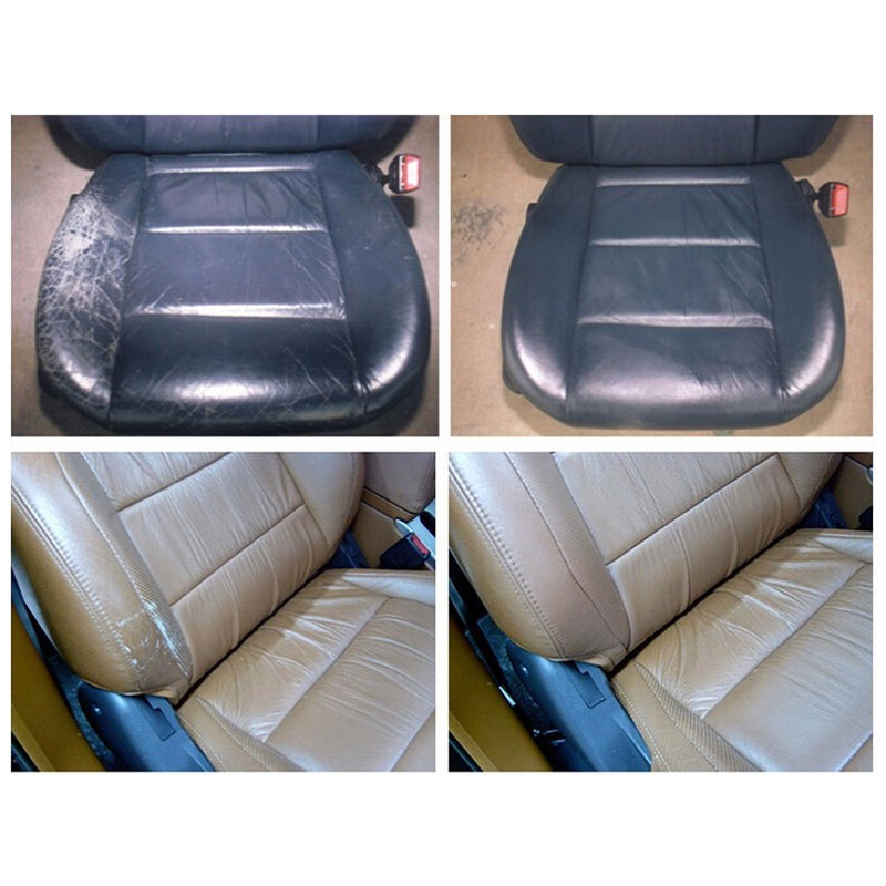Skin Leather Auto Car Seat & Sofa & Coats Holes Scratch Cracks No Heat Liquid Leather Vinyl Repair Kit