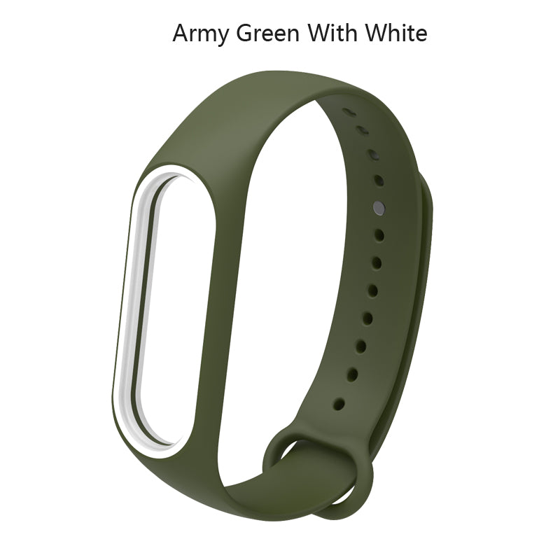 For Xiaomi Mi Band 3 Strap Colorful Silicone Wristband