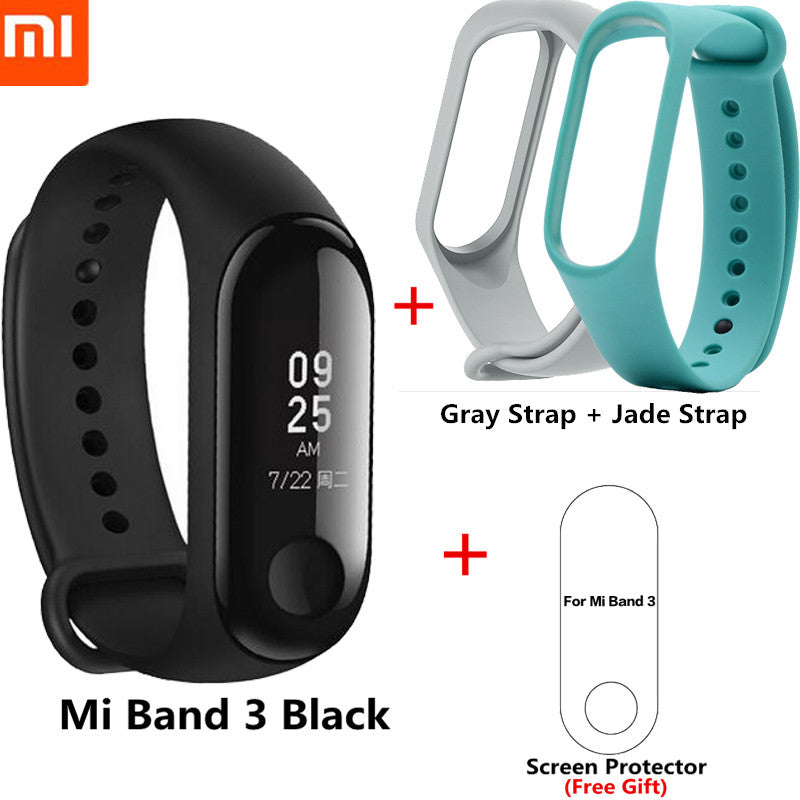 Waterproof Original Xiaomi Mi Band 3/2 Smart Wristband Fitness Bracelet