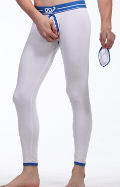Cotton Thermal Ass Open Front Taking Pants