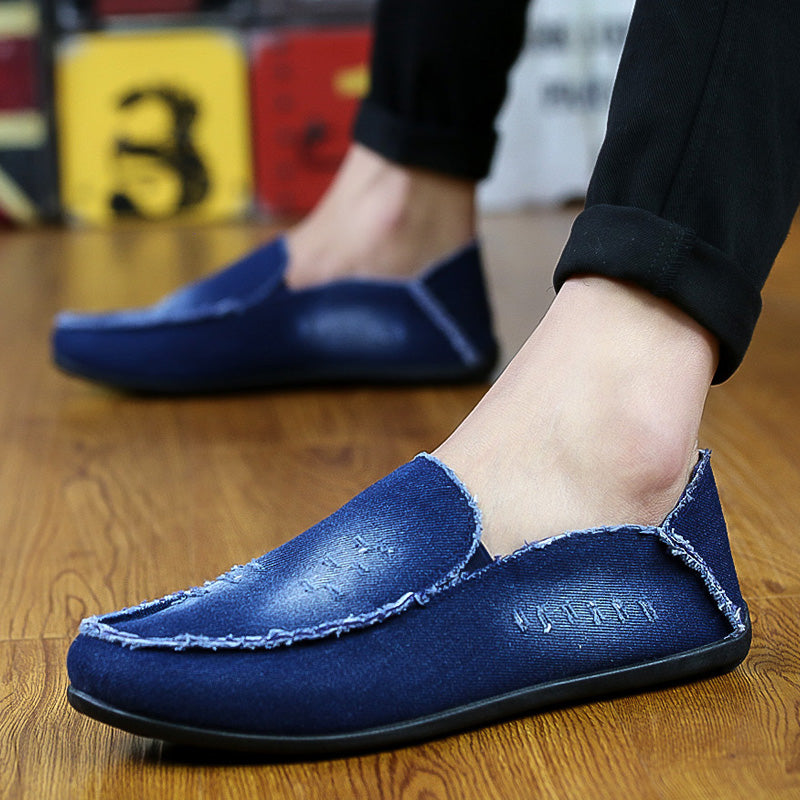 Fashion Breathable Denim Men Shoes