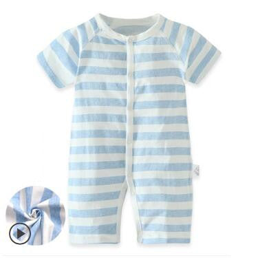 0-24M Short Sleeve Cartoon Cotton Baby Summer Bodysuits