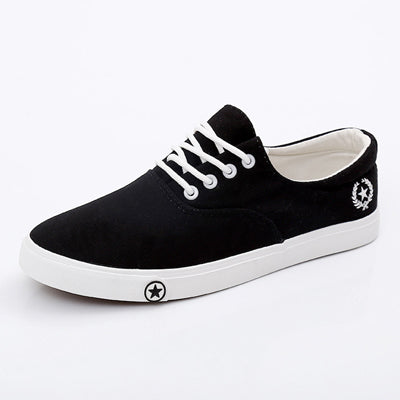 Flat Canvas Breathable Shoes