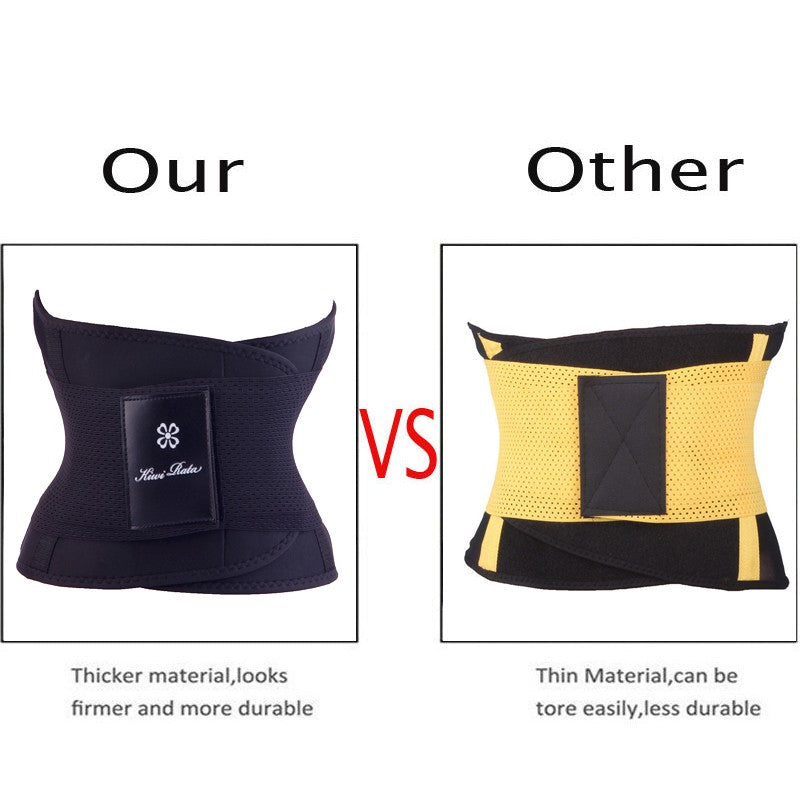 Fitness Belt & Thermo Body Shaper Waist Trainer Trimmer Corset
