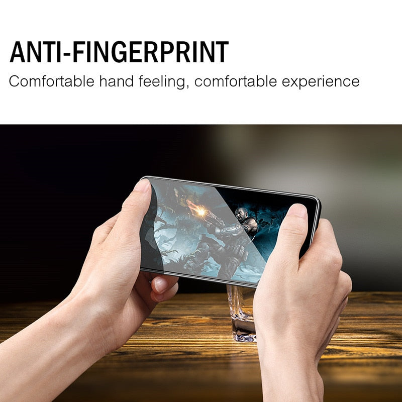 Anti Fingerprint 9H Screen Protector Tempered Glass For Xiaomi Redmi 4X Note 5A 5