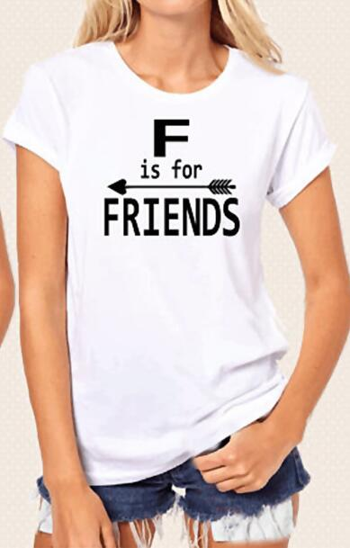 Funny Graphic Cotton Best Friend Matching T-Shirt