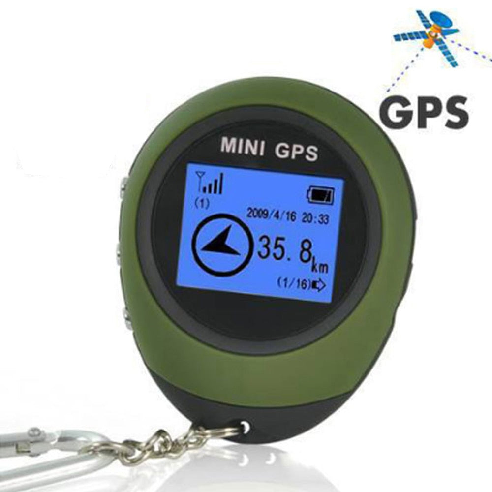 Portable Mini GPS Tracker Handheld Keychain Outdoor GPS Navigation With Remote Control