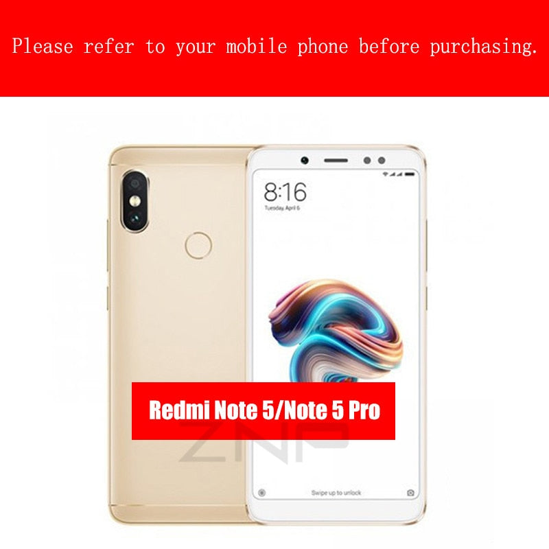 Ultra-Thin 5D Screen Protector Tempered Glass For Xiaomi Redmi Note 5 5A Redmi 4X 5A 6A