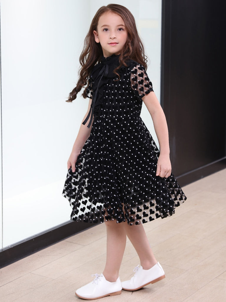 Elegant 6-16Yrs A-Line Beading Summer Dress For Girls