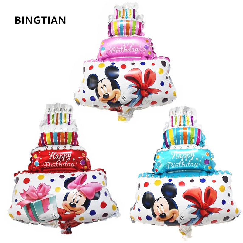 Lovely Animal Cartoon Pattern Decoration Helium Balloon For Birthday & Party
