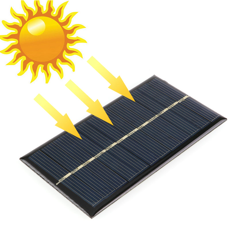 DIY 5V 6V 12V Mini DIY Solar Panel System For Battery Cell Phone Chargers
