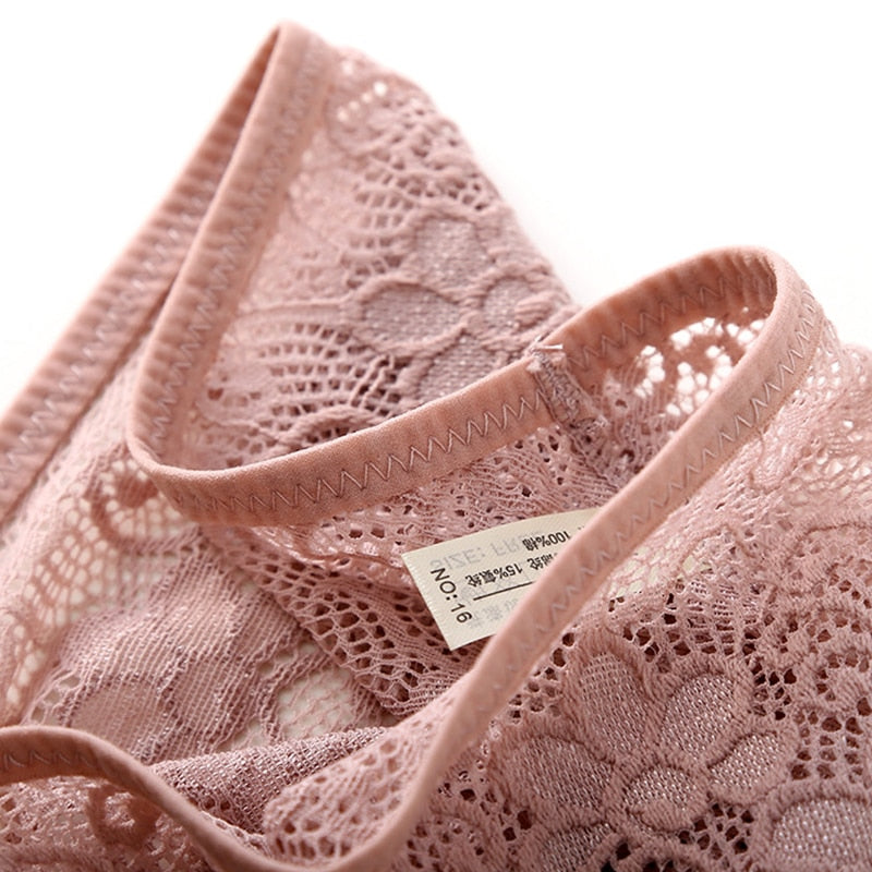 Low Waist Cotton Tempting Lace Cozy Women Panties