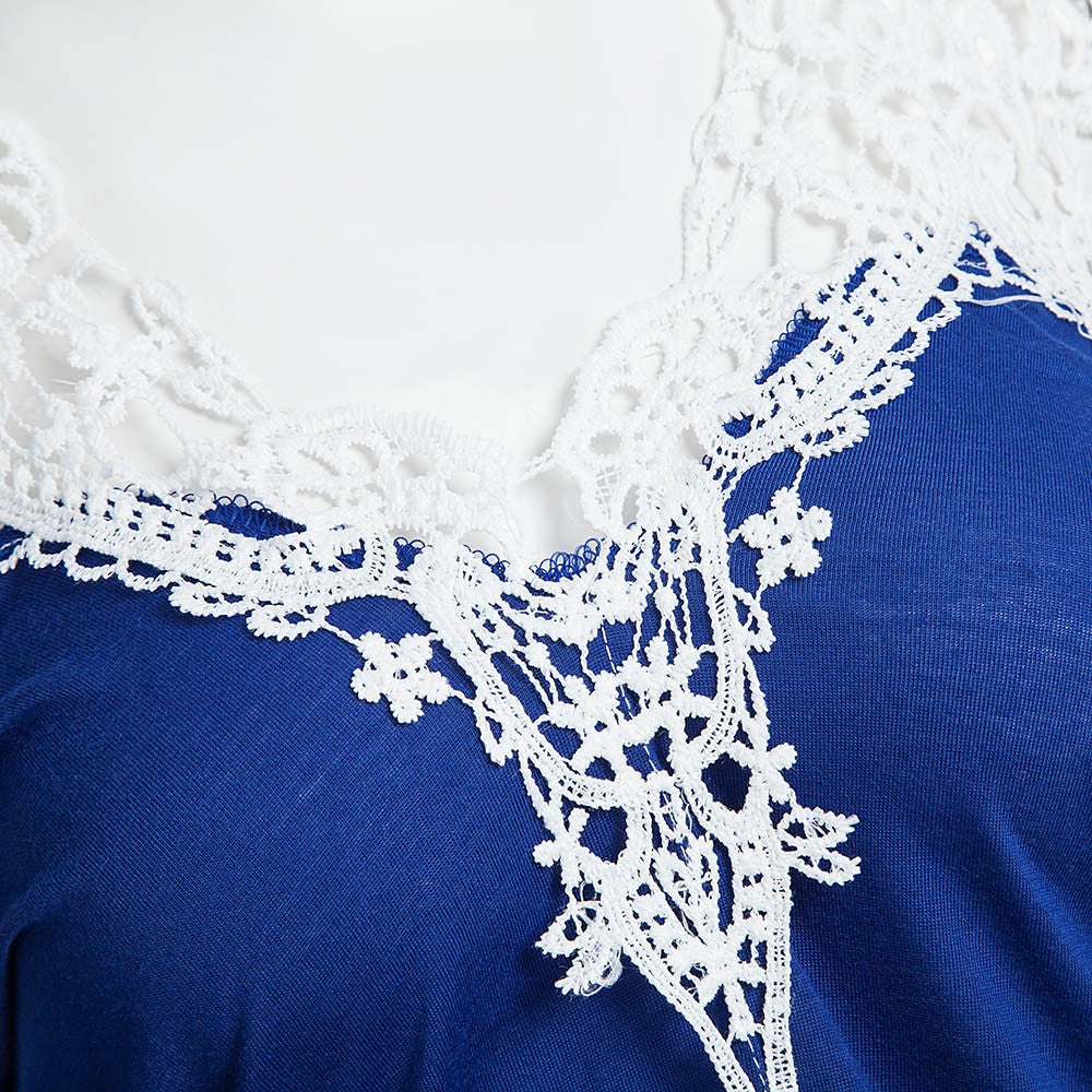 Plus Size White Lace Long Sleeve Vintage Blouse