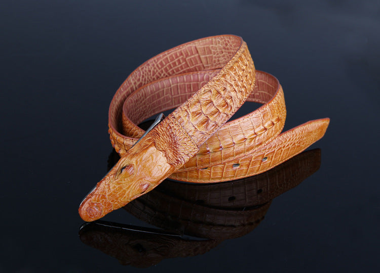 Luxury High Quality Cow Leather Men Belt