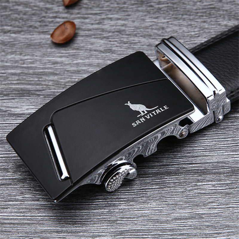 Good Quality Cowskin Genuine Luxury Leather Men's Belt