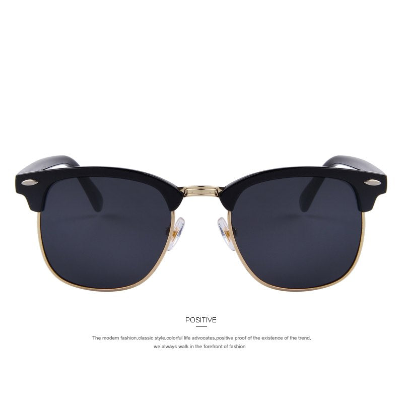 Classic Retro Rivet Polarized UV400 Unisex Sunglasses