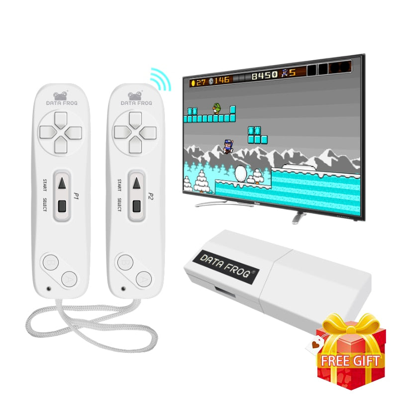 Built-in 620 Games USB Wireless Handheld TV Video Mini Game Console