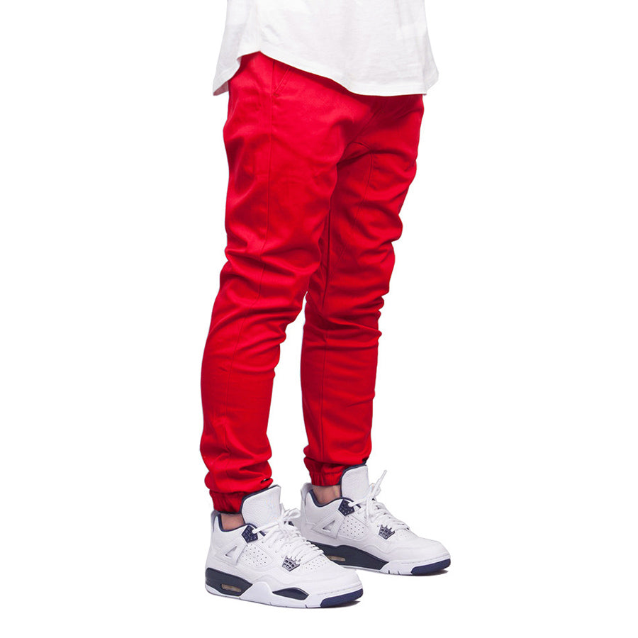 Elastic Waist Stretch Flat Hip Hop Harem Pant For Men