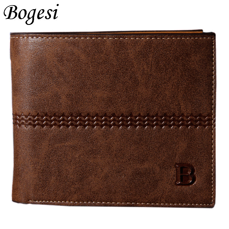 Luxury Classic Soild Pattern Men Wallet