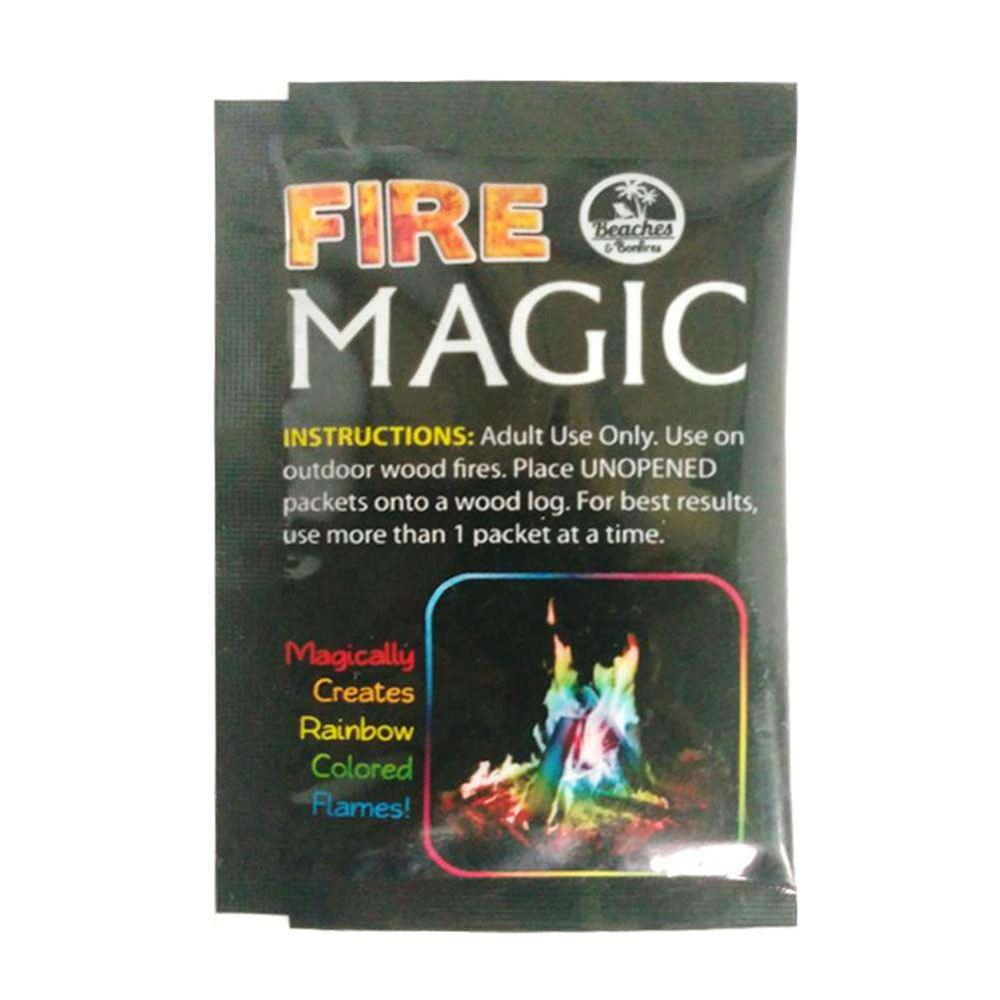 10/15/25g Professional Fire Magic Tricks Coloured Flames Sachets For Fireplace