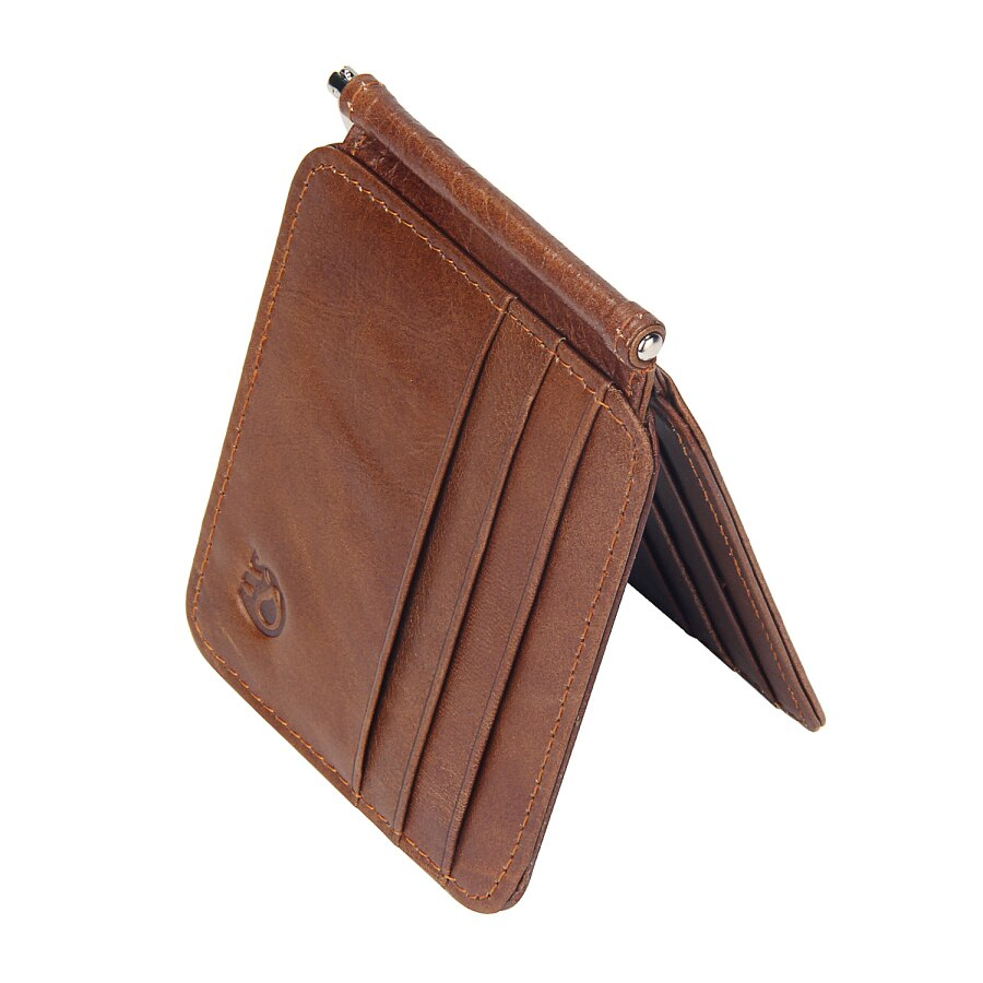 Vintage Retro Genuine Cow Leather Wallet For Men