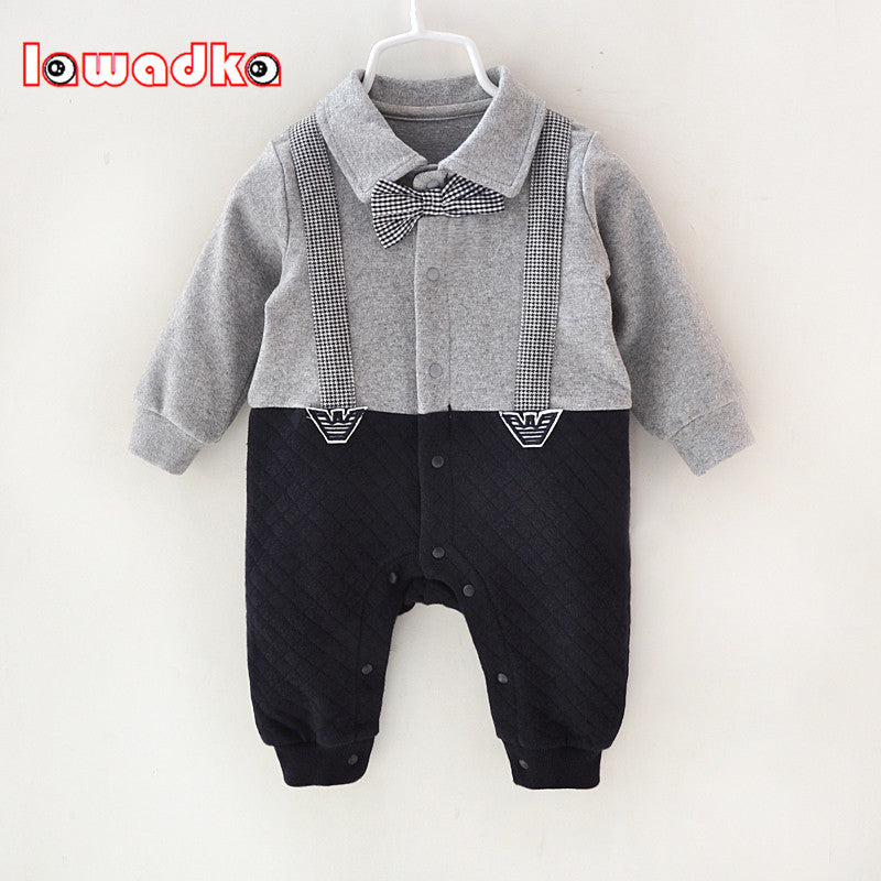 Sweet Gentleman Cotton Jumpsuit