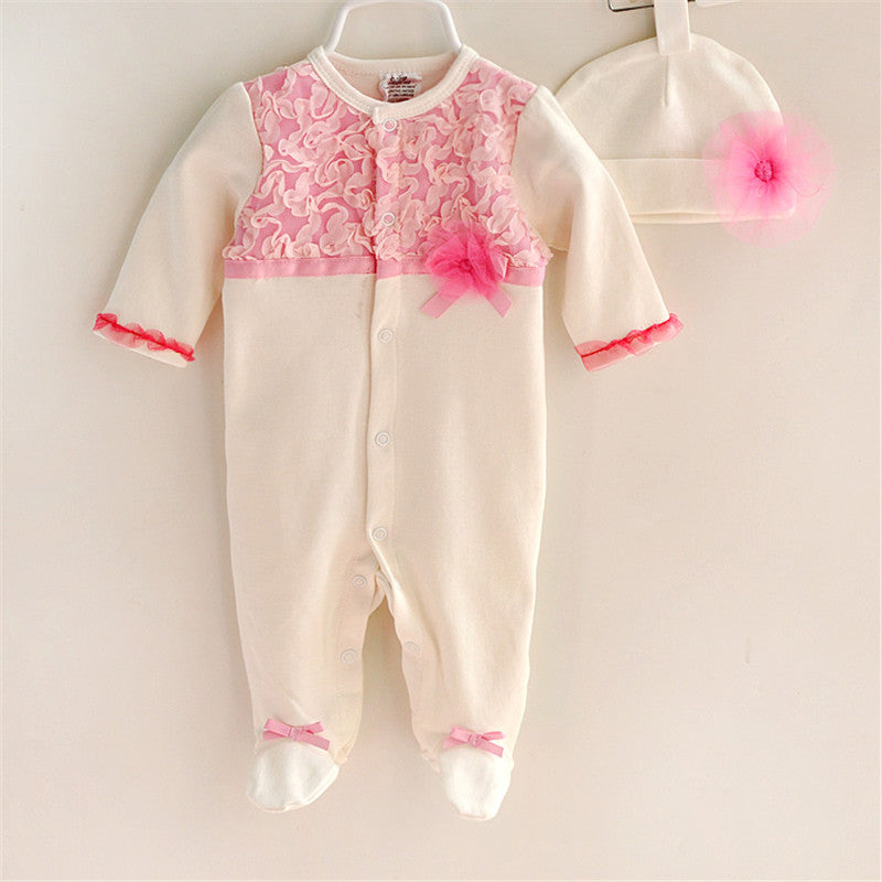 Lovely Princess Style Newborn Baby Girl Clothes