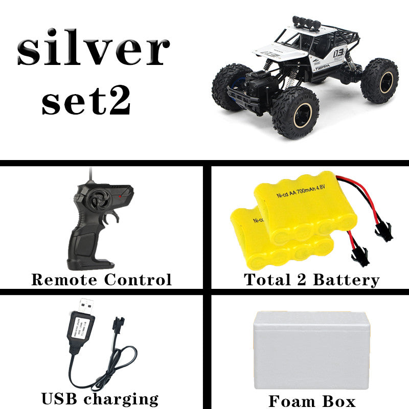 1:12 4WD Off-Road Trucks Updated Version 2.4G Radio Control RC Cars Toys