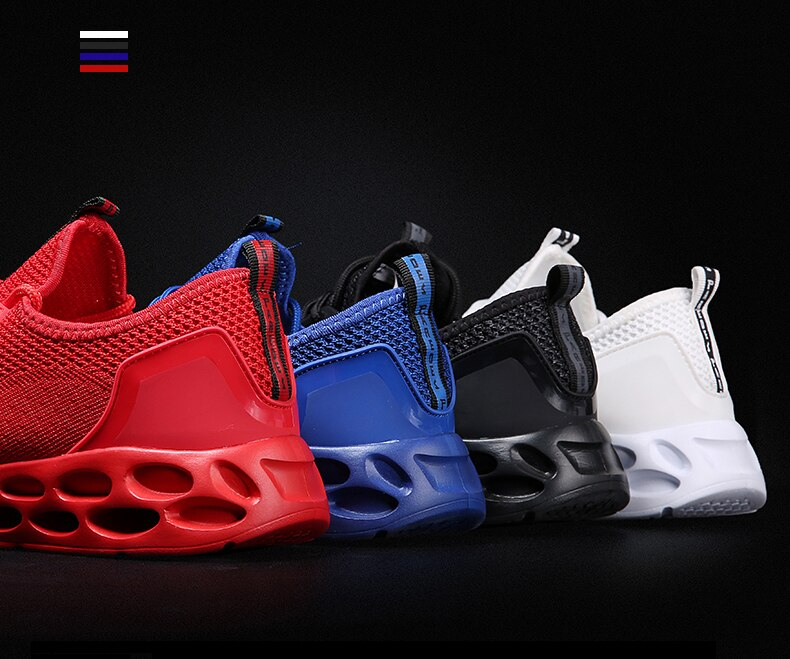 Comfortable Breathable Flyweather Light Sneakers For Men