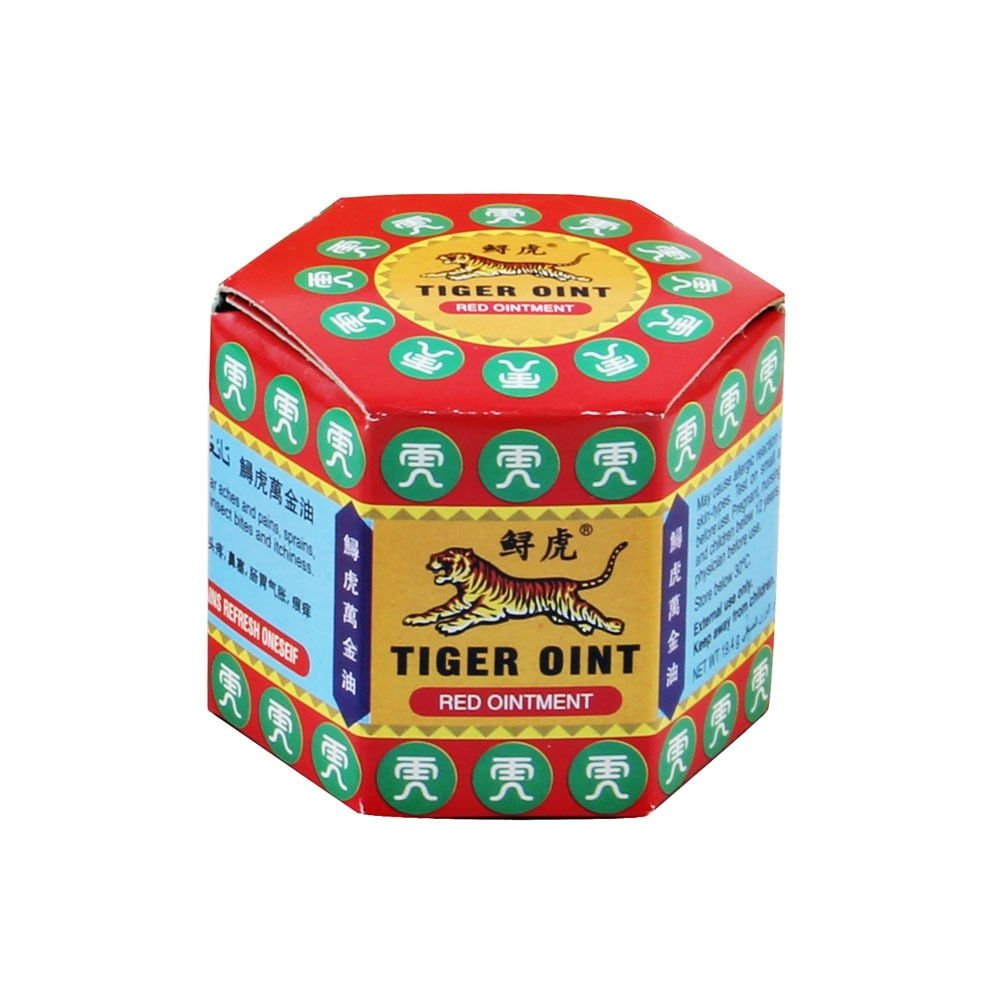 100% Original Red Tiger Balm Ointment Thailand Painkiller